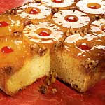 the history of the pineapple upside down cake with recipe
