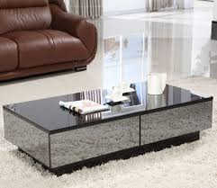 mirrored glass coffee table mirrored glass coffee table energiadosamba home ideas the