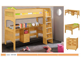 loft bunk bed with unique desk underneath full for teenagers miami loft bunk with single bed and desk shabby chic home decor diy home
