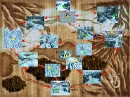Final Fantasy 1 World Map by Great Glacier Final Fantasy Wiki Fandom Powered By Wikia