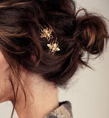 beautiful hair pins bridal hair of london