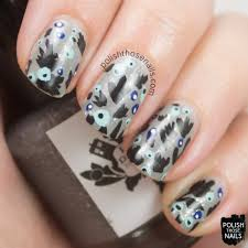 guest post from polish those nails patterned manicure be happy