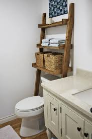 Bathroom Shelving Ideas Best 25 Leaning Shelves Ideas On Pinterest Leaning Ladder Shelf