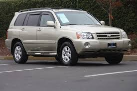 2003 toyota highlander limited reviews gold toyota highlander in california for sale used cars on