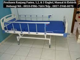 Tempat Tidur Besi Lipat harga tempat tidur pasien baru wa 0818 0986 7604 telp 0857 5940