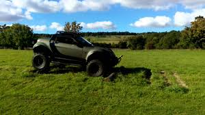 lifted smart car smart off roadster 4x4 youtube