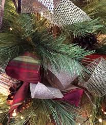how to decorate a tree with ribbon hometalk