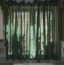 Green Kitchen Curtains Gorgeous Green Kitchen Curtains Decor With Accessories