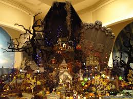 miniature halloween village halloween village wallpapers crazy frankenstein