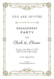 engagement brunch invitations free engagement party invitation templates greetings island