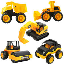cat puzzle children toys engineering car series compactor truck