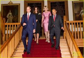 kate middleton u0026 prince william thank new zealand for welcoming
