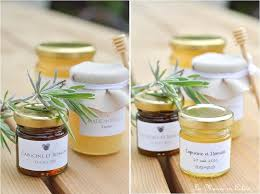 cadeau mariage invitã cadeau pour les invités les petits pots de miel pot de miel