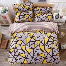 geometric pattern bedding ab surface design stripes and geometric patterns 3 4pcs bedding set