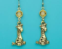 giraffe earrings giraffe earrings sterling silver giraffe earrings