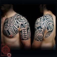 tattoo tribal chest tatouage polynesien polynesian tattoo tribal montreal