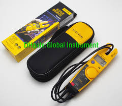 fluke t5 600 600 voltage current electrical tester soft case