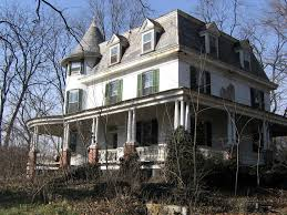 old house abandoned mansion and guest house