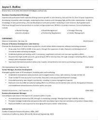 Business Development Resumes 22 Simple Business Resume Templates Free U0026 Premium Templates