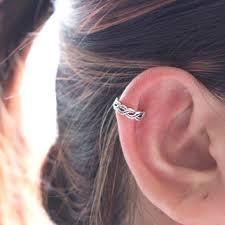 cartilage cuff earrings shop infinity cartilage earring on wanelo