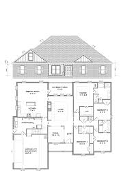 House Plans With Keeping Rooms by Ed Corp Category Our Plans Image 2504 Signature 203 300