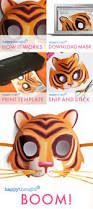tiger mask halloween 278 best paper mask fun images on pinterest mask template