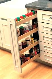 Kitchen Cabinet Door Spice Rack Cabinet Spice Organizer Pull Out Spice Rack Cabinet Door Spice