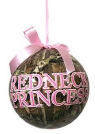 pink camo and ornaments country gift ideas