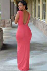 sexi maxi dress salmon slit maxi dress 9023 0 jpg