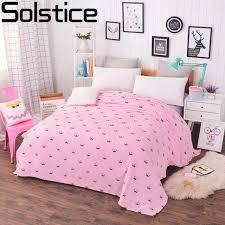 jeter un canapé solstice textile flanelle corail couverture couronne style