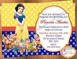 25 snow white invitations ideas snow white
