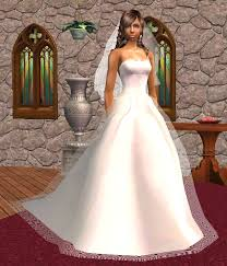 2007 wedding dresses mod the sims wedding gown for big weddings updated 29 oct 2007
