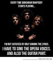 Queen Memes - yup i m that person trying to sing everything at once or i just