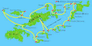map of the bvi explore the islands with odyssey expeditions