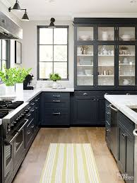 black kitchen cabinets with marble countertops 25 beautiful country kitchens to copy asap kitchen design