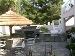 Custom Outdoor Kitchen Designs Outdoor Fireplaces Las Vegas Custom Outdoor Kitchen Design By
