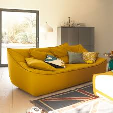 living room gray storage yellow dinamis modern leather loveseat