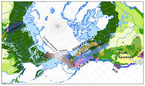 Map Of Russia And Alaska by Ancient Migration Patterns To North America Are Hidden In
