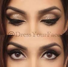 makeup ideas for white and gold dress makeup vidalondon