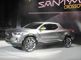 hyundai santa cruz crossover pickup truck concept 2015 detroit