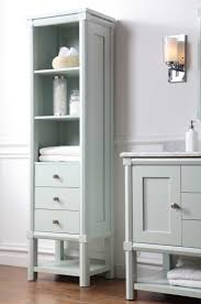 135 best bathrooms images on pinterest martha stewart bathroom martha stewart living sutton 15 in w x 20 in d x 72 in h 3 drawer tall side unit in rain water ideas for bathroomsdream