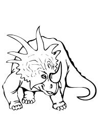 styracosaurus dinosaur coloring free printable coloring pages