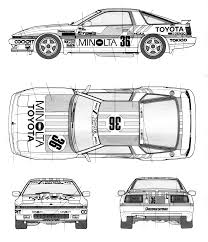 toyota supra drawing toyota supra turbo team tom u0027s jtcc gr a smcars net car