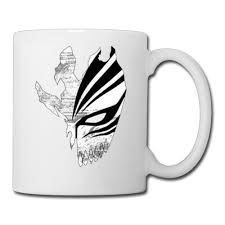 online shop japanese cartoon bleach kurosaki ichigo mask coffee