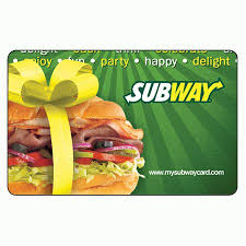 fast food gift cards best 25 subway gift card ideas on basket of