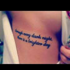 quote on rib side through every there is a