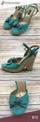 the 25 best teal wedges ideas on pinterest turquoise wedges