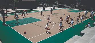 How Much Does A Backyard Basketball Court Cost Multi Sport Sport Court