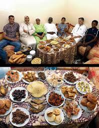 ramadan cuisine ramadan iftar meals from around the photos abc