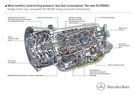 mercedes benz releases details on 9g tronic nine speed auto